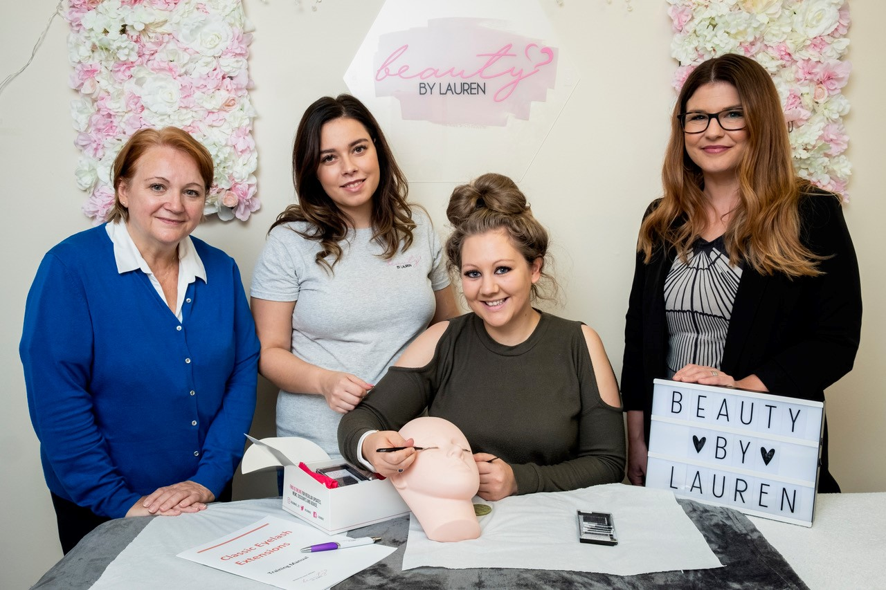 Lauren's beauty business gets a Kickstart