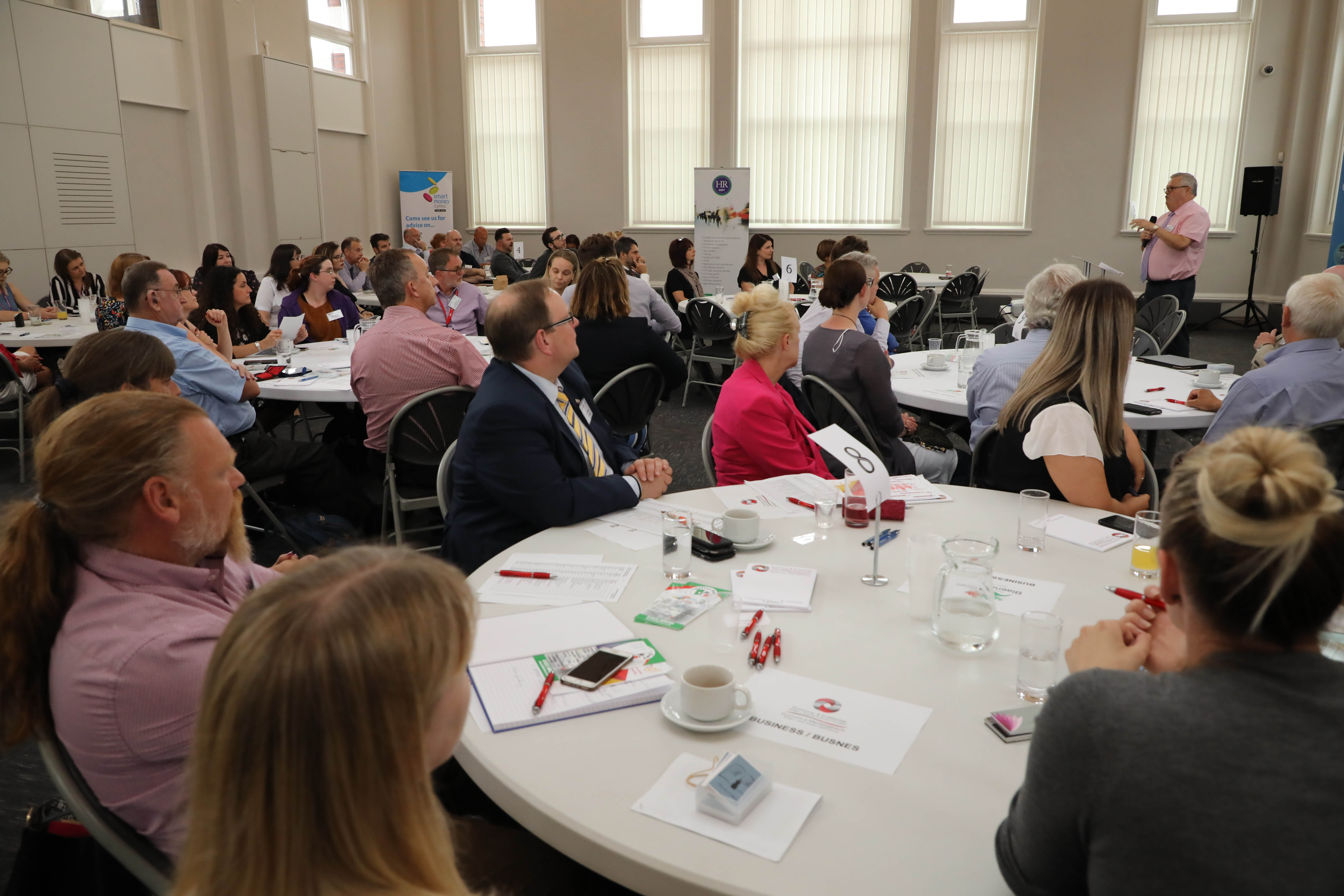 Torfaen and Blaenau Gwent businesses join forces for successful 'Meet your business neighbour' networking event