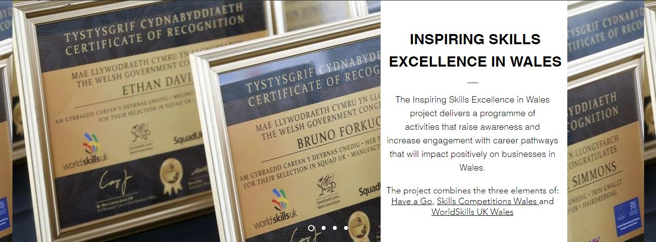 Inspiring Skills Excellence in Wales